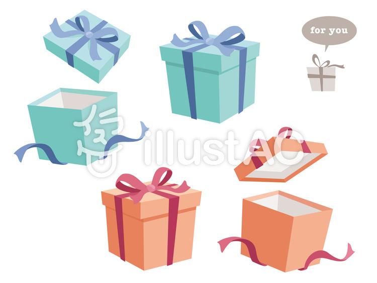 可愛らしいプレゼントボックス